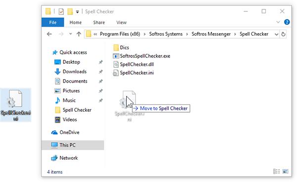 Sofros LAN messenger - Adding Languages to Spellcheck
