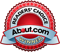 About.com reader's choice winner